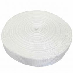 Taśma nośna 40 mm biała