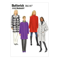 Wykrój Butterick B6107