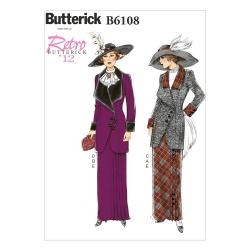 Wykrój Butterick B6108
