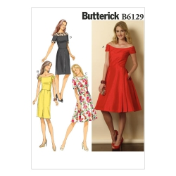 Wykrój Butterick B6129