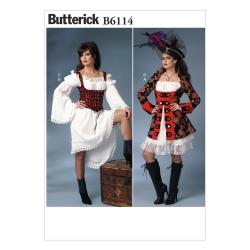 Wykrój Butterick B6114