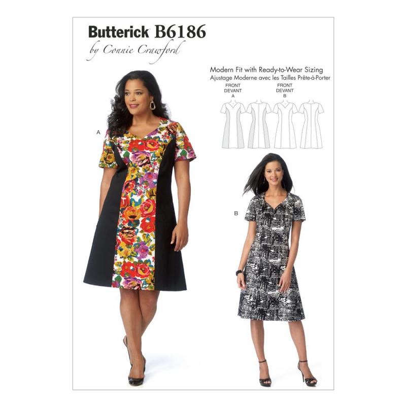 Wykrój Butterick B6186