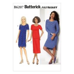 Wykrój Butterick B6207