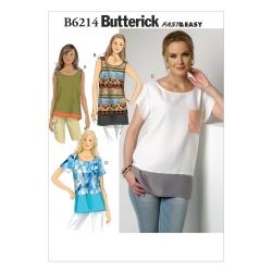 Wykrój Butterick B6214