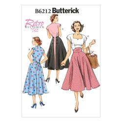 Wykrój Butterick B6212