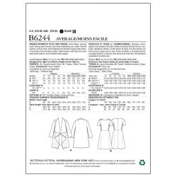 Wykrój Butterick B6054