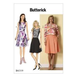 Wykrój Butterick B6319