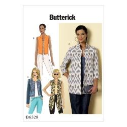 Wykrój Butterick B6328