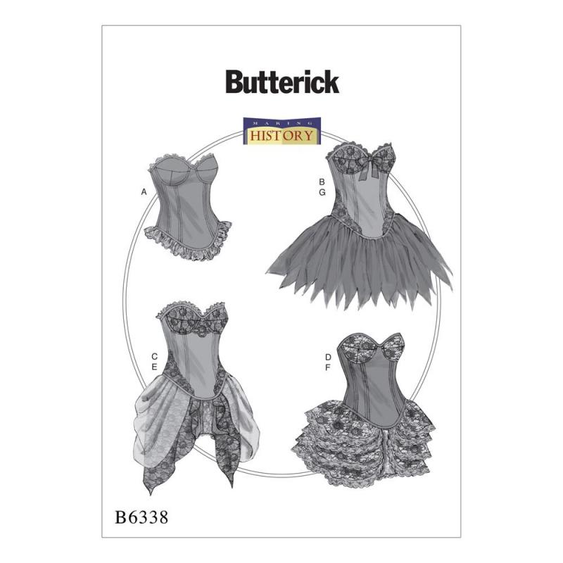 Wykrój Butterick B6338