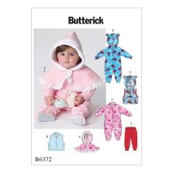 Wykrój Butterick B6372