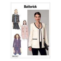 Wykrój Butterick B6382