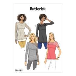 Wykrój Butterick B6418
