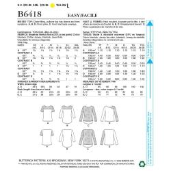 Wykrój Butterick B6244