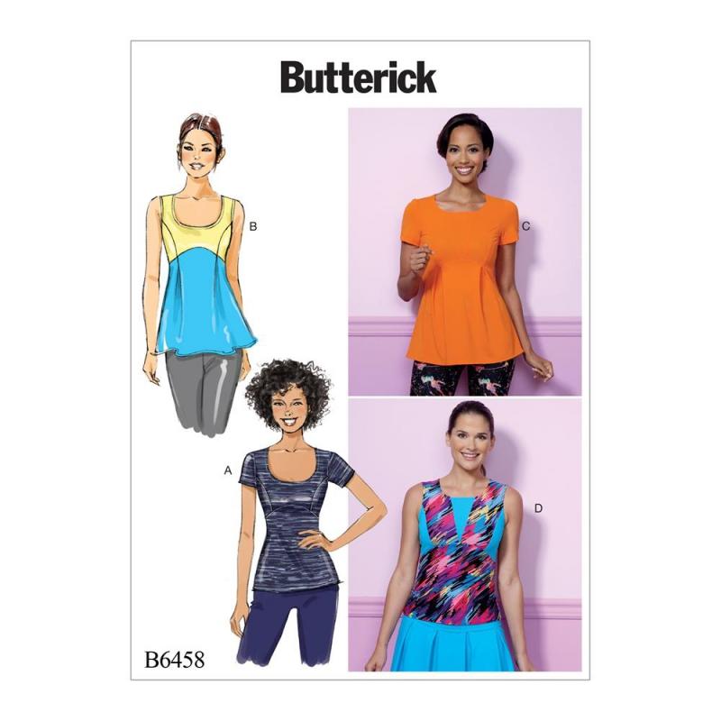 Wykrój Butterick B6458
