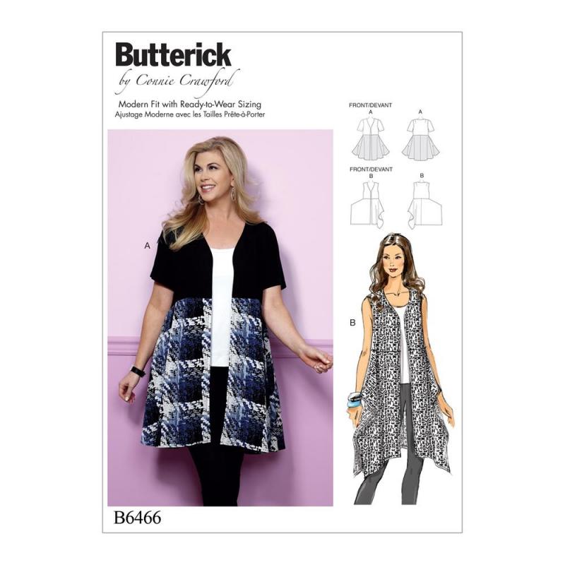 Wykrój Butterick B6466