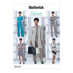 Wykrój Butterick B6495