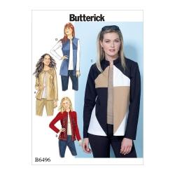 Wykrój Butterick B6496