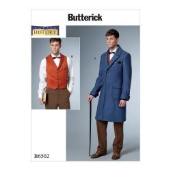 Wykrój Butterick B6502