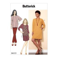 Wykrój Butterick B6525