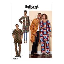 Wykrój Butterick B6534