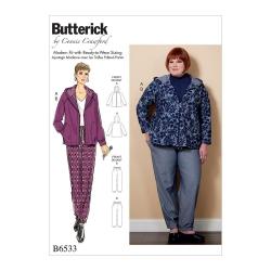 Wykrój Butterick B6533