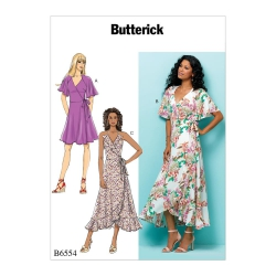 Wykrój Butterick B6554