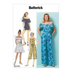 Wykrój Butterick B6566