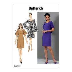 Wykrój Butterick B6585