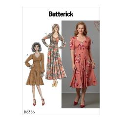 Wykrój Butterick B6586