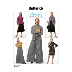 Wykrój Butterick B6599