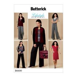 Wykrój Butterick B6600