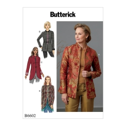 Wykrój Butterick B6602