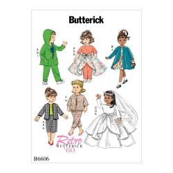 Wykrój Butterick B6606