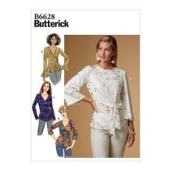 Wykrój Butterick B6628