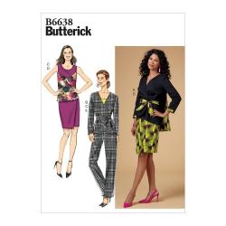 Wykrój Butterick B6638