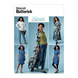Wykrój Butterick B6640