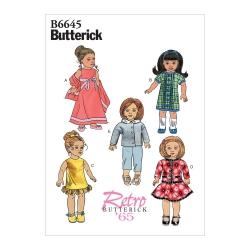 Wykrój Butterick B6645