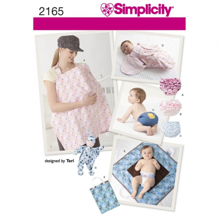 2165 simplicity crafts pattern 2165 envelope front