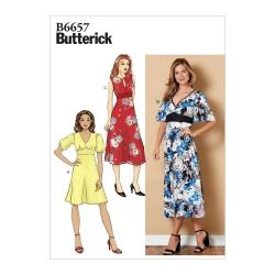Wykrój Butterick B6497