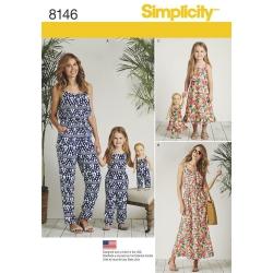 Wykrój Simplicity 8146