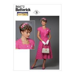 Wykrój Butterick B6672