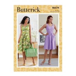Wykrój Butterick B6674