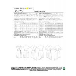 Wykrój Butterick B6551