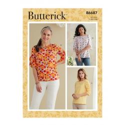 Wykrój Butterick B6687