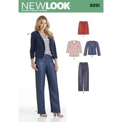 Wykrój New Look N6351A