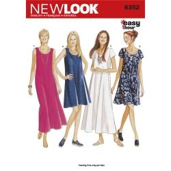 Wykrój New Look N6352A