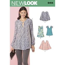 Wykrój New Look N6414A