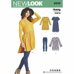 Wykrój New Look N6533A