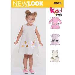Wykrój New Look N6611A