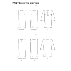 Wykrój New Look N6619A